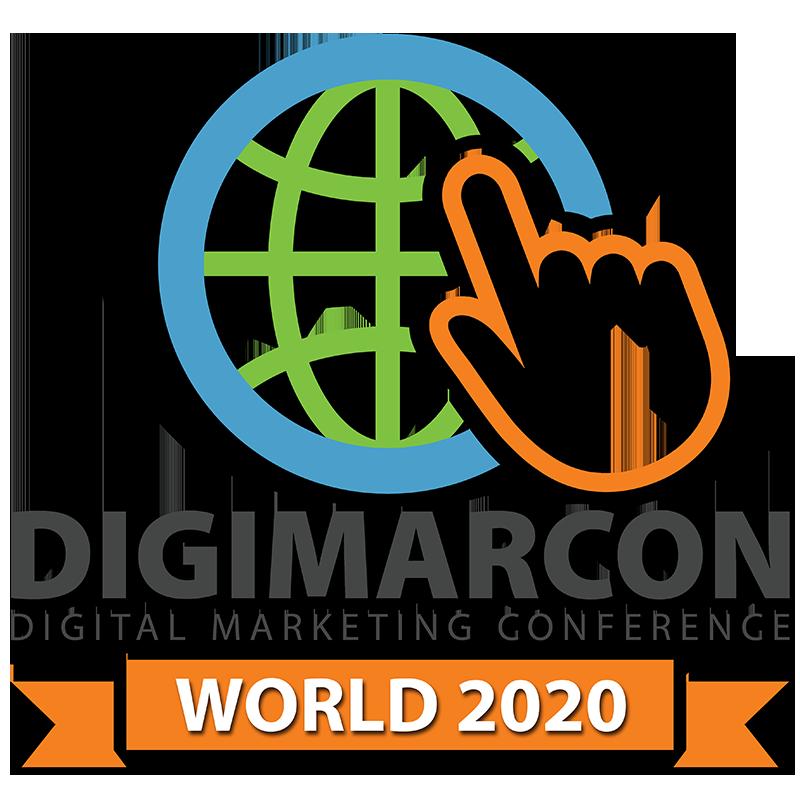 DigiMarCon World 2020 - Digital Marketing Conference Logo