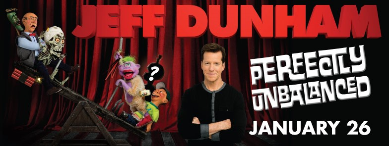 Jeff Dunham: Perfectly Unbalanced Logo