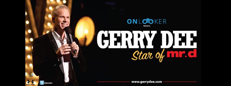 Onlooker Presents: GERRY DEE LIVE Logo