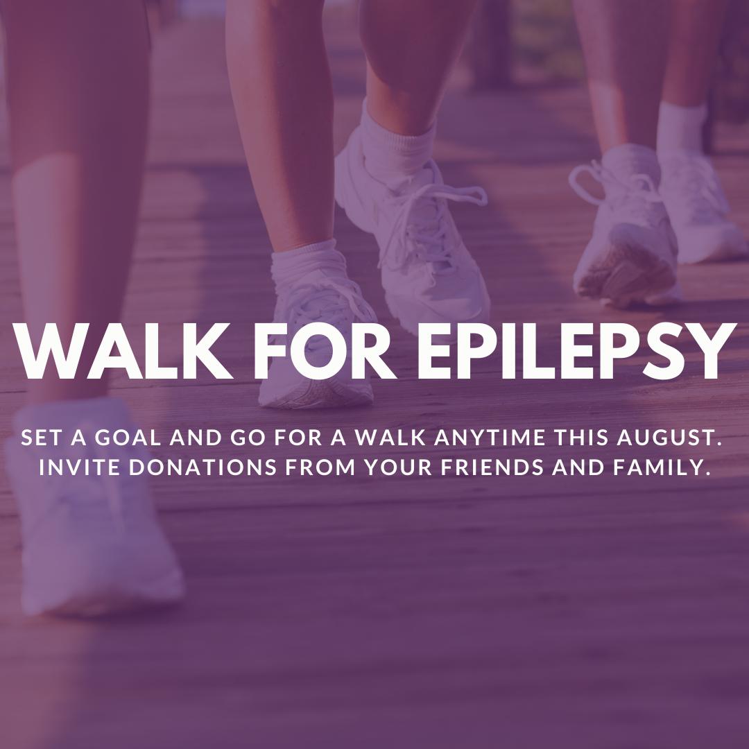 Walk for Epilepsy Logo