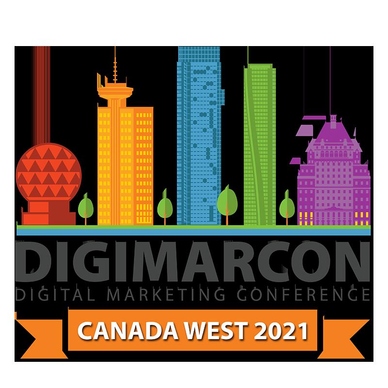 DigiMarCon Canada West 2021 - Digital Marketing, Media and Advertising Conference & Exhibition Logo