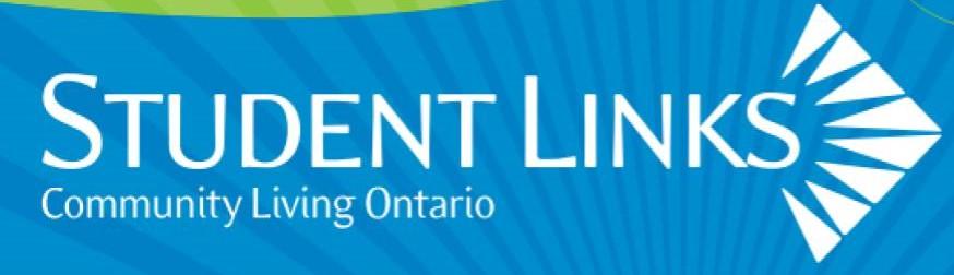 Community Living Ontario-Student Links Initiative Logo